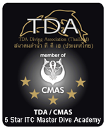 Master Instructor - TDA/CMAS Instructor 1, 2 and 3 Star*